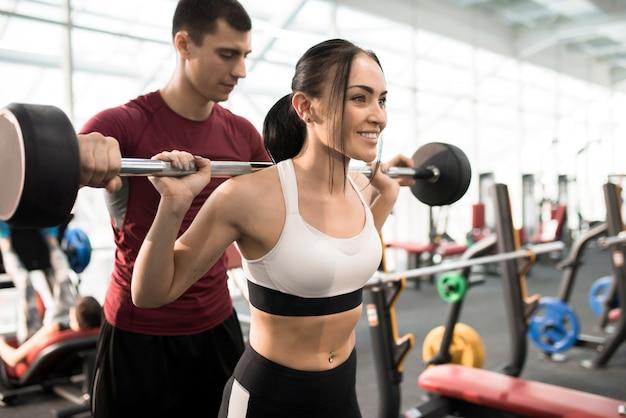 Trening siłowy z trenerem
