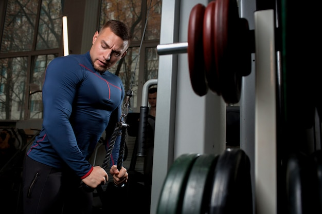 Trening sportowca