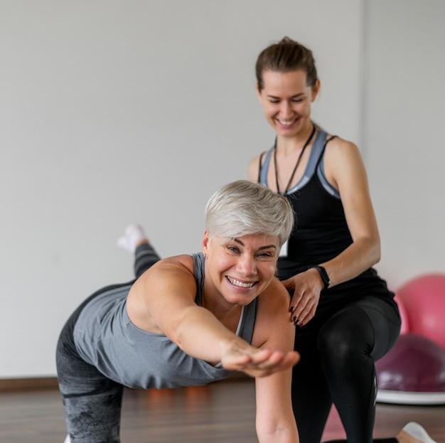 Trening z osobistym trenerem i bycie szczęśliwym