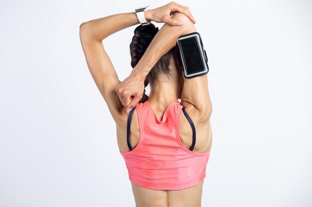 Triceps ćwiczenia rozciągające
