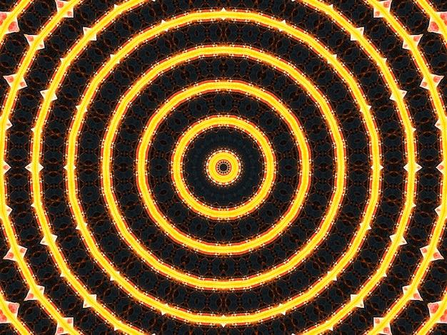 Trippy spiralny kształt kalejdoskopu, bardzo idealny do wzoru batikowego, artystycznego, ściennego, ramki lustra, tła, projektu dywanu, gobelinu