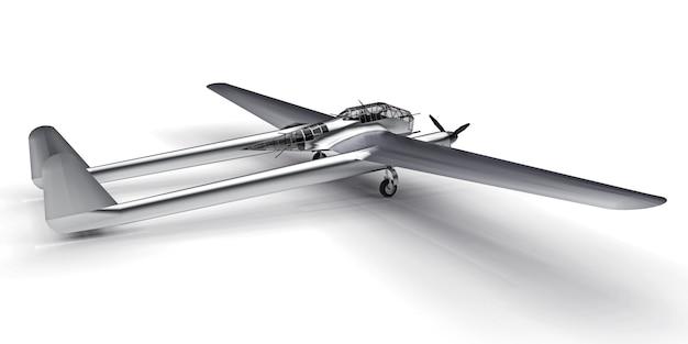 Trójwymiarowy model samolotu bombowego drugiej wojny światowej