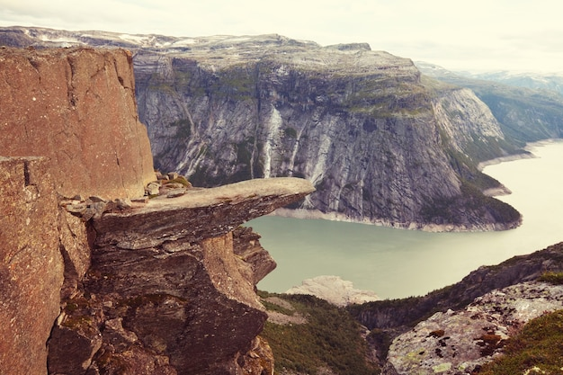 Trolltunga w norwegii