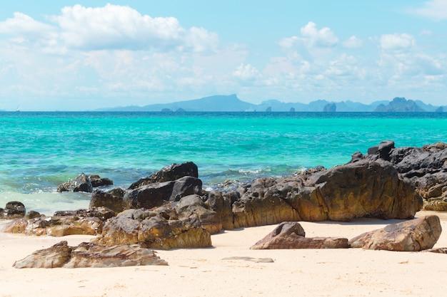 Tropikalna piaszczysta plaża