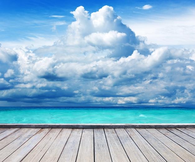 Tropikalna plaża, morze andamańskie, tajlandia