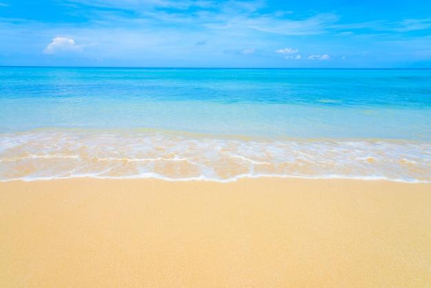 Tropikalna plaża morze