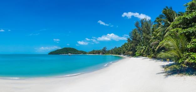 Tropikalna plaża na samui