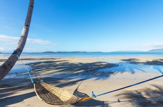 Tropikalna Plaża Serenity, Filtr Instagram Premium Zdjęcia