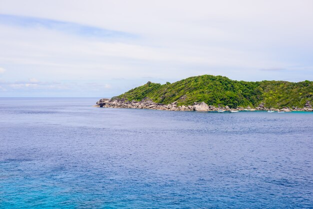 Tropikalna plaża, wyspy similan