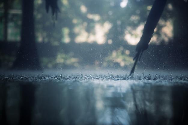 Tropikalny deszcz