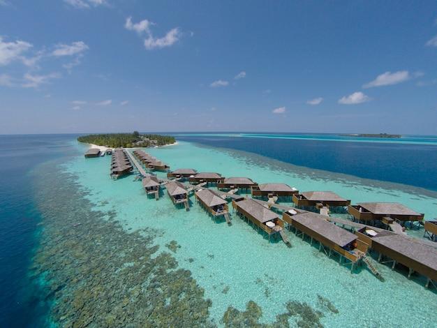 Tropikalny raj luksusowe spa laguny