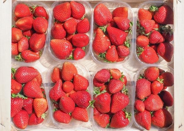 Truskawki w fruitboxie