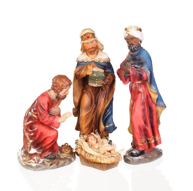 Trzej mędrcy i dzieciątko jezus