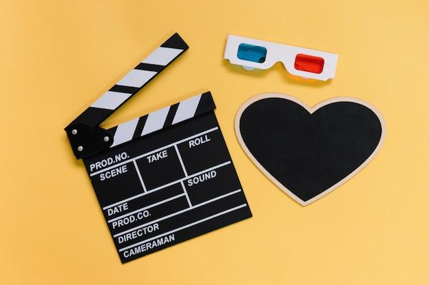 Trzy obiekty filmowe