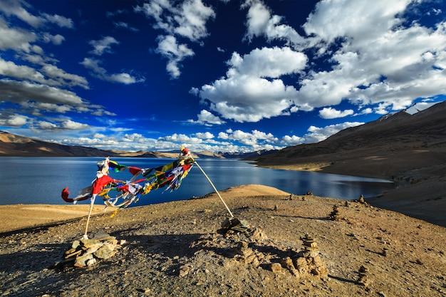 Tso moriri, ladakh, indie