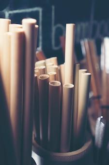 Tubka bambusowa, produkt ekologiczny