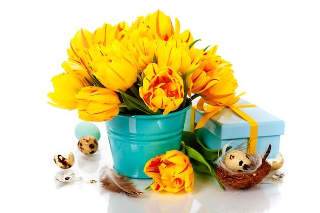 Tulipany wielkanocne
