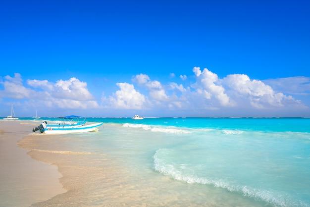 Tulum karaiby plaża w riviera majowiu