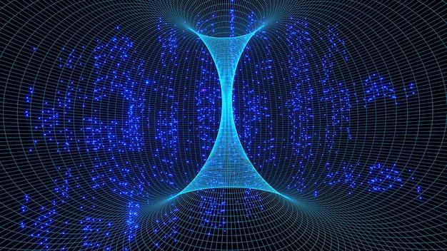 Tunel czasoprzestrzenny nie jest skrótem, ale pośrednim sposobem poruszania się po wszechświecie.