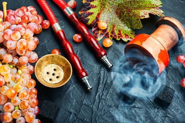 Turecka fajka wodna z tytoniem do fajki wodnej o smaku winogronowym
