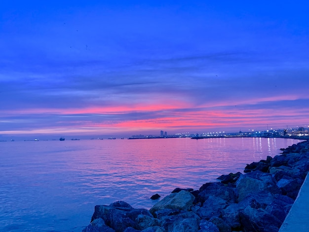 Turecki zachód słońca