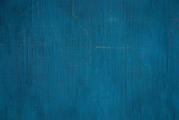 Turkusowa niebieska tekstura starej ściany ze sklejki
