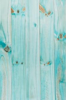 Turkusowy drewniany teksturowane deski