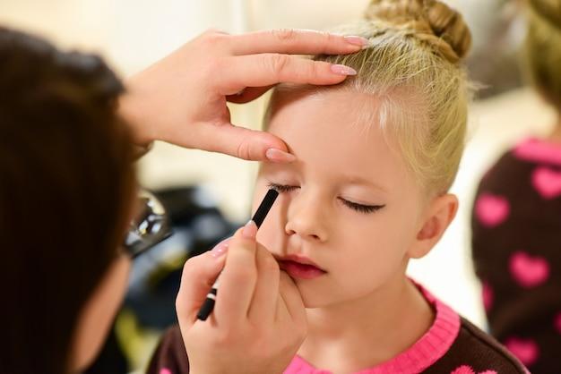 Tusz do rzęs dla tancerki makijażu