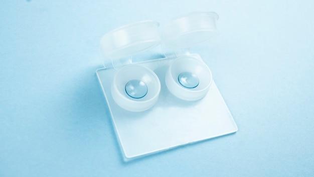 Twarde soczewki krótkowzroczność medycyna optyczna zdjęcie