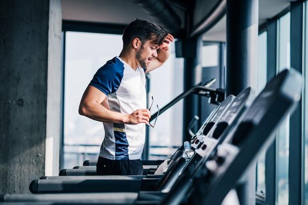 Twardy trening cardio.