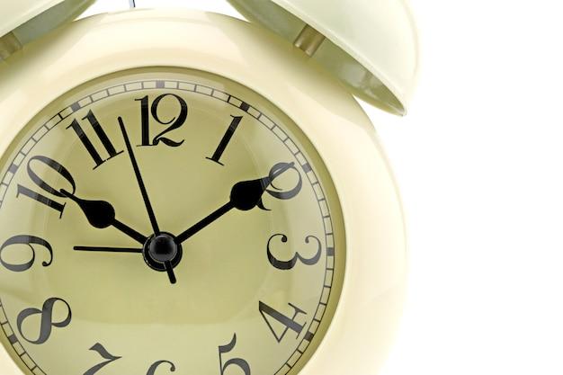 Twarz zegara fotograficznego. zbliżenie