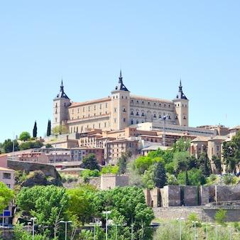 Twierdza alcazar w toledo, hiszpania