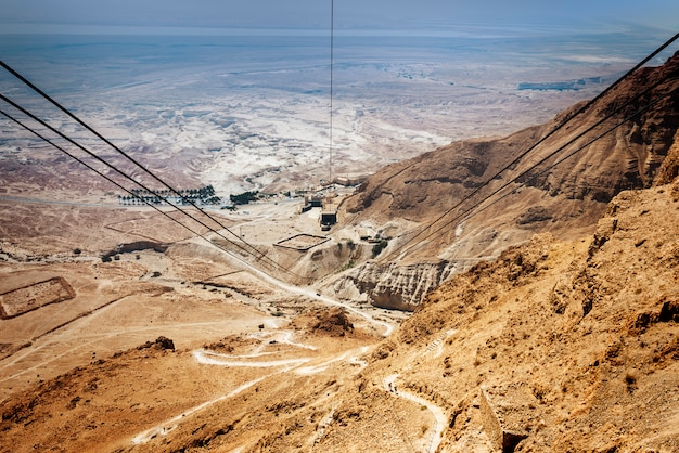 Twierdza masada w izraelu