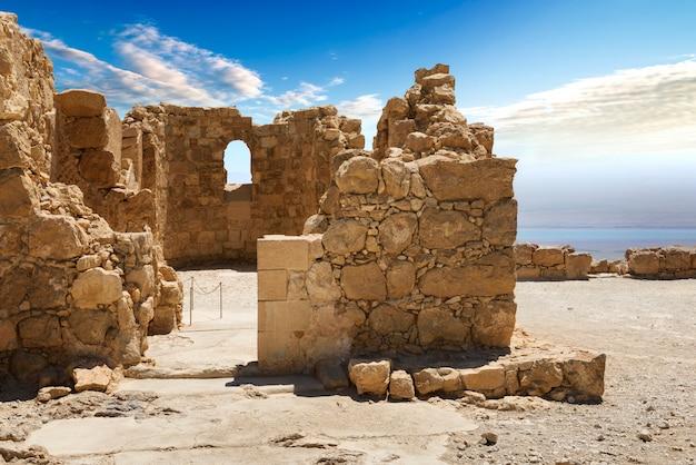 Twierdza massada w izraelu