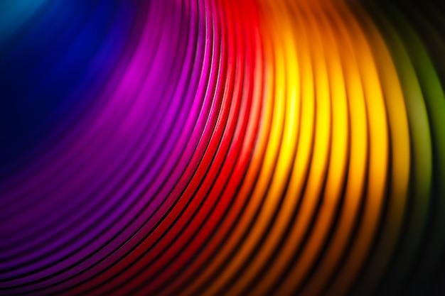 Twórcza spirala tęczy, abstrakcyjny obraz tła