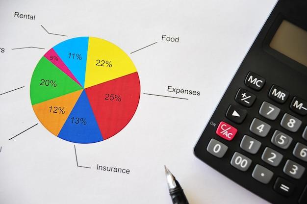 Tworzenie budżetu biznesowego i praca na wykresach