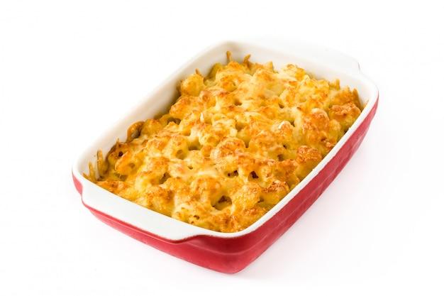 Typowy amerykański makaron i ser