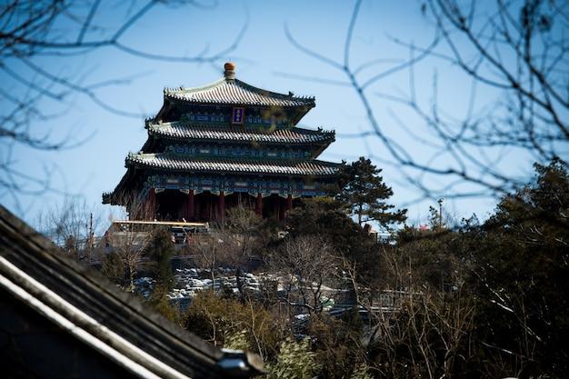 Typowy chiński budynku