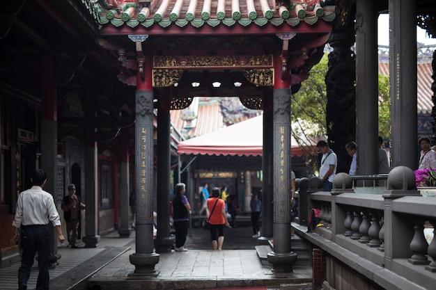 Typowy chiński widok na miasto