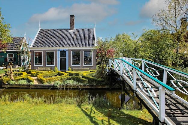 Typowy dom we wsi zaanse schans