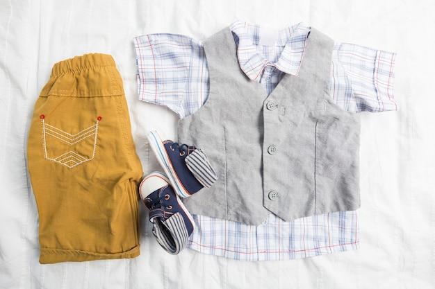 Ubrania chłopca