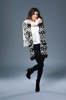 Ubrania z wełny są najlepsze na zimę