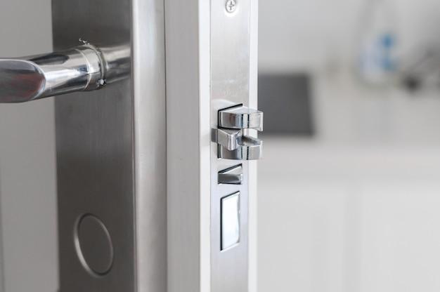 Uchwyt stalowa gałka na drzwiach