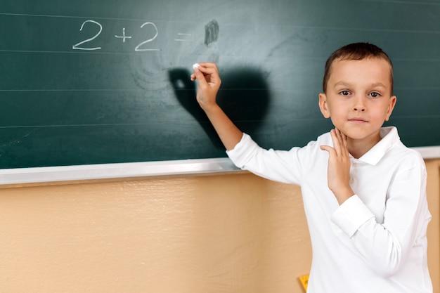 Uczeń o lekcji matematyki