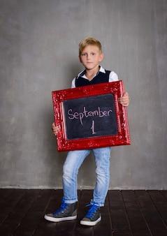 Uczeń z tablicy. koncepcja szkoły