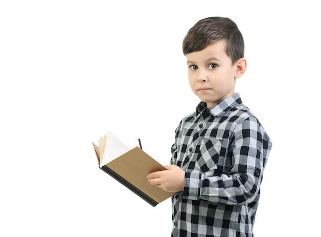 Uczeń zdziwiony, pisząc w swoim pamiętniku