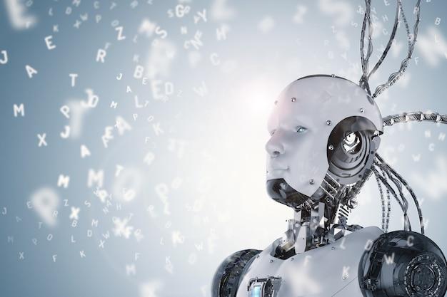 Uczenie robotów renderowania 3d lub uczenie maszynowe za pomocą alfabetów