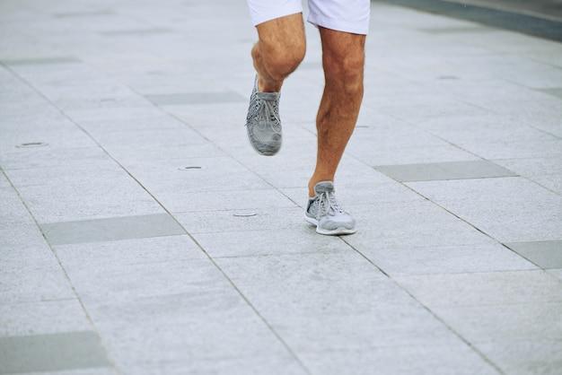 Uczestnik maratonu