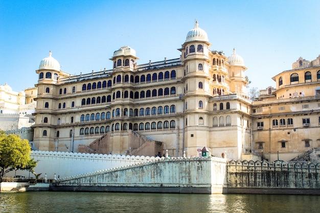 Udaipur miasto pałac radżastan indie