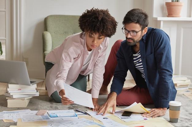 Udany zespół start-upów skoncentrowany na dokumentach